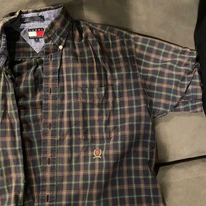 Plaid Tommy Hilfiger Button Down SS